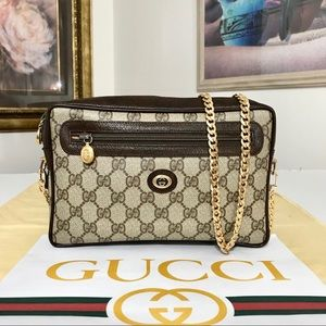 GUCCI GG PATTERN CLUTCH/CROSSBODY BAG. 👜